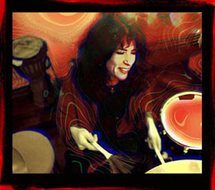 Debra Dobkin - Percussionist and Painter